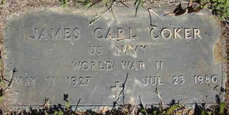 COKER (VETERAN WWII), JAMES EARL - Faulkner County, Arkansas | JAMES EARL COKER (VETERAN WWII) - Arkansas Gravestone Photos