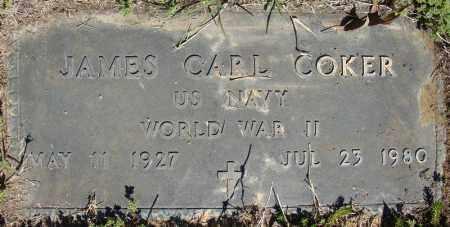 COKER (VETERAN WWII), JAMES EARL - Faulkner County, Arkansas | JAMES EARL COKER (VETERAN WWII) - Arkansas Gravestone Photos