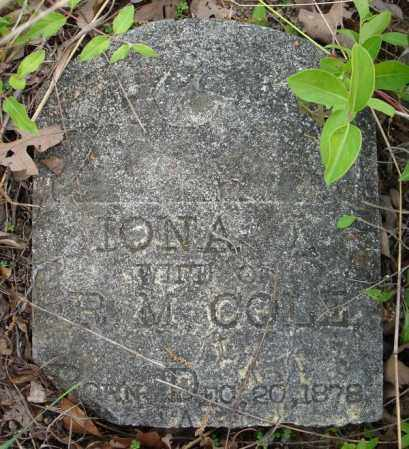COLE (PART 1), IONA - Faulkner County, Arkansas | IONA COLE (PART 1) - Arkansas Gravestone Photos