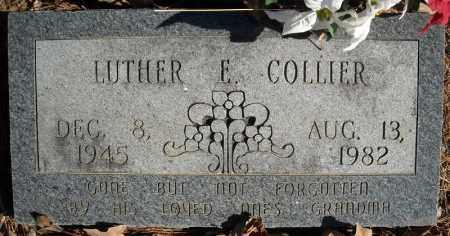 COLLIER, LUTHER E. - Faulkner County, Arkansas | LUTHER E. COLLIER - Arkansas Gravestone Photos