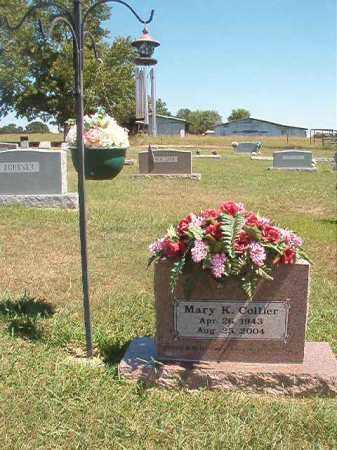 COLLIER, MARY K - Faulkner County, Arkansas | MARY K COLLIER - Arkansas Gravestone Photos