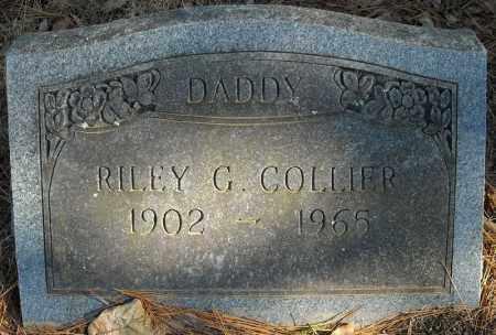 COLLIER, RILEY G. - Faulkner County, Arkansas | RILEY G. COLLIER - Arkansas Gravestone Photos