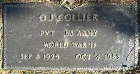 COLLIER (VETERAN WWII), O.J. - Faulkner County, Arkansas | O.J. COLLIER (VETERAN WWII) - Arkansas Gravestone Photos