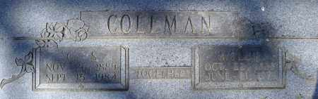 COLEMAN, MOLLIE - Faulkner County, Arkansas | MOLLIE COLEMAN - Arkansas Gravestone Photos