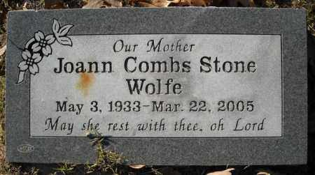 COMBS STONE, JOANN - Faulkner County, Arkansas | JOANN COMBS STONE - Arkansas Gravestone Photos