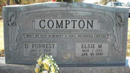 COMPTON, D. FORREST - Faulkner County, Arkansas | D. FORREST COMPTON - Arkansas Gravestone Photos