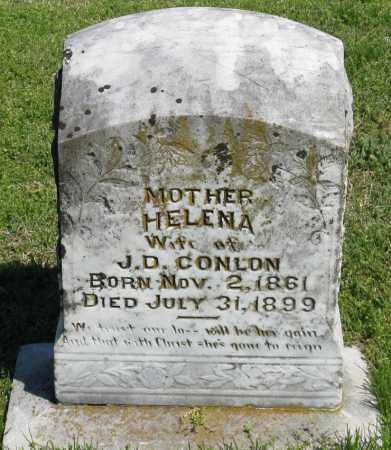 CONLON, HELENA - Faulkner County, Arkansas | HELENA CONLON - Arkansas Gravestone Photos