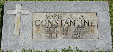 CONSTANTINE, MARIE JULIA - Faulkner County, Arkansas | MARIE JULIA CONSTANTINE - Arkansas Gravestone Photos