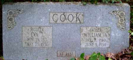 COOK, WILLIAM A. - Faulkner County, Arkansas | WILLIAM A. COOK - Arkansas Gravestone Photos