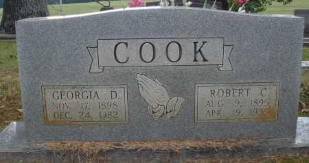 COOK, ROBERT C. - Faulkner County, Arkansas | ROBERT C. COOK - Arkansas Gravestone Photos