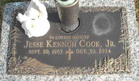 COOK, JR., JESSE KENNON - Faulkner County, Arkansas | JESSE KENNON COOK, JR. - Arkansas Gravestone Photos