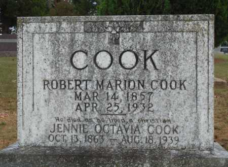 COOK, JENNIE OCTAVIA - Faulkner County, Arkansas | JENNIE OCTAVIA COOK - Arkansas Gravestone Photos