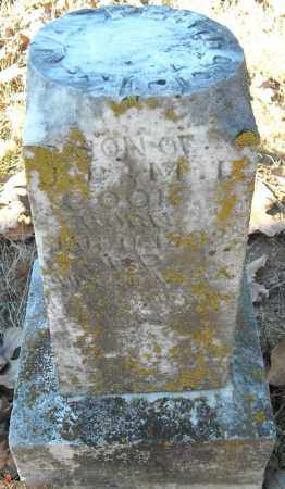 COOK (SIDE VIEW), JASPER T. - Faulkner County, Arkansas | JASPER T. COOK (SIDE VIEW) - Arkansas Gravestone Photos