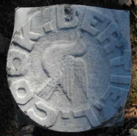 COOK (TOP VIEW), BERTIE L. - Faulkner County, Arkansas | BERTIE L. COOK (TOP VIEW) - Arkansas Gravestone Photos