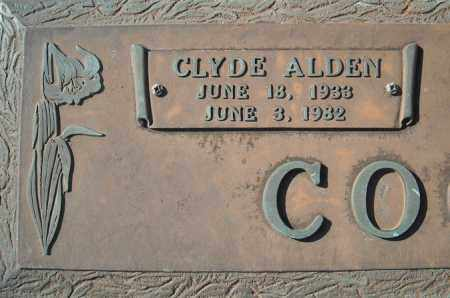 COOPER, CLYDE ALDEN  (CLOSE UP) - Faulkner County, Arkansas | CLYDE ALDEN  (CLOSE UP) COOPER - Arkansas Gravestone Photos