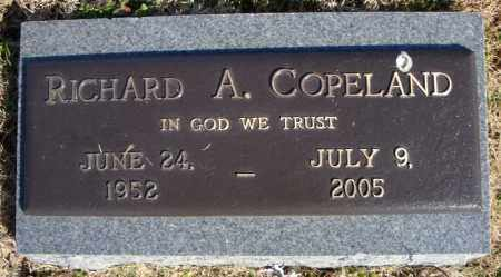 COPELAND, RICHARD A. - Faulkner County, Arkansas | RICHARD A. COPELAND - Arkansas Gravestone Photos