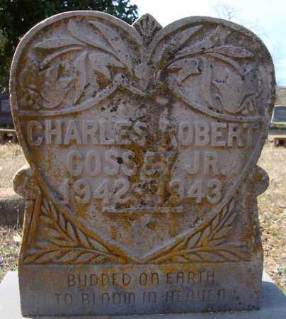 COSSEY, JR., CHARLES ROBERT - Faulkner County, Arkansas | CHARLES ROBERT COSSEY, JR. - Arkansas Gravestone Photos