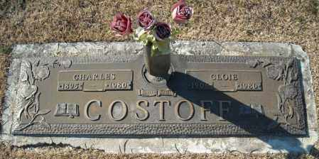 COSTOFF, CHARLES - Faulkner County, Arkansas | CHARLES COSTOFF - Arkansas Gravestone Photos