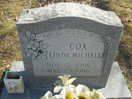 COX, LINDA MICHELLE - Faulkner County, Arkansas | LINDA MICHELLE COX - Arkansas Gravestone Photos