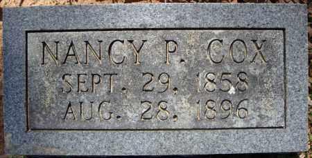 COX, NANCY P. - Faulkner County, Arkansas | NANCY P. COX - Arkansas Gravestone Photos