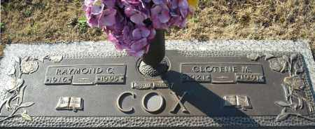 COX, CLOTENE M. - Faulkner County, Arkansas | CLOTENE M. COX - Arkansas Gravestone Photos
