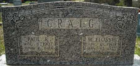 CRAIG, MARGIE FLOSSIE - Faulkner County, Arkansas | MARGIE FLOSSIE CRAIG - Arkansas Gravestone Photos
