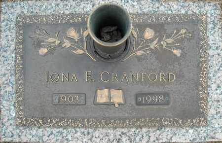 CRANFORD, IONA E. - Faulkner County, Arkansas | IONA E. CRANFORD - Arkansas Gravestone Photos