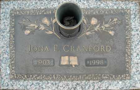 CRANFORD, IONA E. - Faulkner County, Arkansas | IONA E. CRANFORD - Arkansas Gravestone Photos