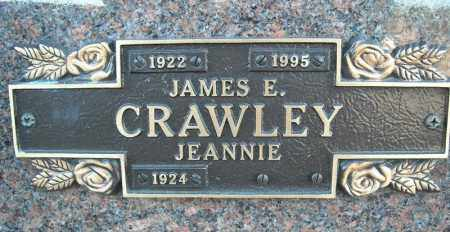 CRAWLEY, JAMES E. - Faulkner County, Arkansas | JAMES E. CRAWLEY - Arkansas Gravestone Photos