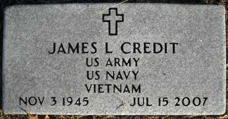 CREDIT (VETERAN VIET), JAMES L - Faulkner County, Arkansas | JAMES L CREDIT (VETERAN VIET) - Arkansas Gravestone Photos