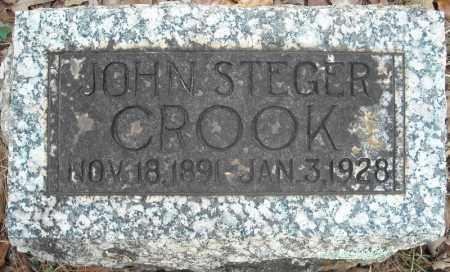CROOK, JOHN STEGER - Faulkner County, Arkansas | JOHN STEGER CROOK - Arkansas Gravestone Photos