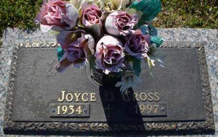 CROSS, JOYCE D. - Faulkner County, Arkansas | JOYCE D. CROSS - Arkansas Gravestone Photos