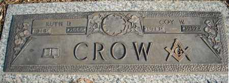 CROW, COY W. - Faulkner County, Arkansas | COY W. CROW - Arkansas Gravestone Photos