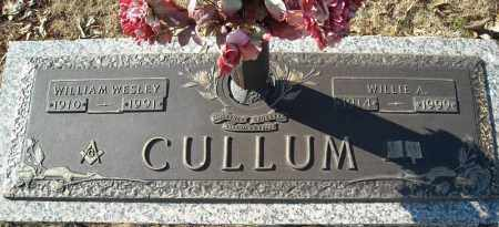 CULLUM, WILLIAM WESLEY - Faulkner County, Arkansas | WILLIAM WESLEY CULLUM - Arkansas Gravestone Photos