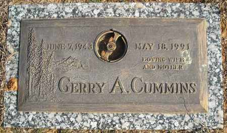 CUMMINS, GERRY A. - Faulkner County, Arkansas | GERRY A. CUMMINS - Arkansas Gravestone Photos