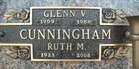 CUNNINGHAM, GLENN V. - Faulkner County, Arkansas | GLENN V. CUNNINGHAM - Arkansas Gravestone Photos