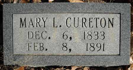 CURETON, MARY L. - Faulkner County, Arkansas | MARY L. CURETON - Arkansas Gravestone Photos