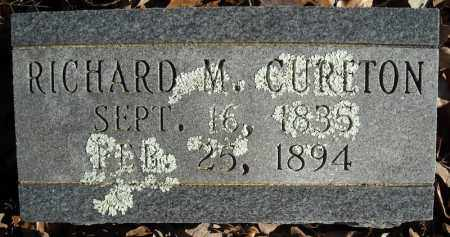 CURETON, RICHARD M. - Faulkner County, Arkansas | RICHARD M. CURETON - Arkansas Gravestone Photos