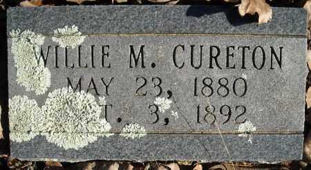CURETON, WILLIE M. - Faulkner County, Arkansas | WILLIE M. CURETON - Arkansas Gravestone Photos