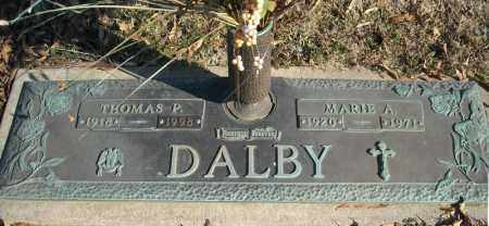 DALBY, MARIE A. - Faulkner County, Arkansas | MARIE A. DALBY - Arkansas Gravestone Photos