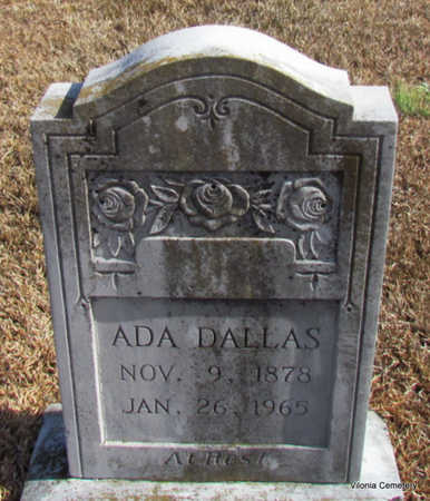 DALLAS, ADA - Faulkner County, Arkansas | ADA DALLAS - Arkansas Gravestone Photos