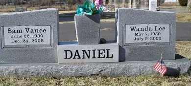 DANIEL, WANDA LEE - Faulkner County, Arkansas | WANDA LEE DANIEL - Arkansas Gravestone Photos