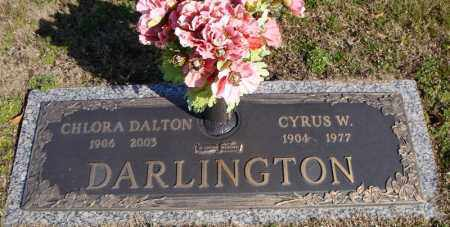 DARLINGTON, CHLORA DALTON - Faulkner County, Arkansas | CHLORA DALTON DARLINGTON - Arkansas Gravestone Photos