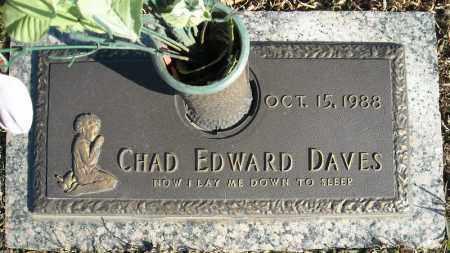 DAVES, CHAD EDWARD - Faulkner County, Arkansas | CHAD EDWARD DAVES - Arkansas Gravestone Photos