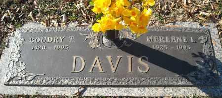 DAVIS, MERLENE L. - Faulkner County, Arkansas | MERLENE L. DAVIS - Arkansas Gravestone Photos