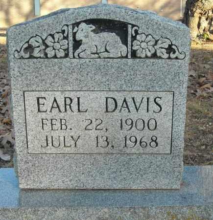 DAVIS, EARL - Faulkner County, Arkansas | EARL DAVIS - Arkansas Gravestone Photos