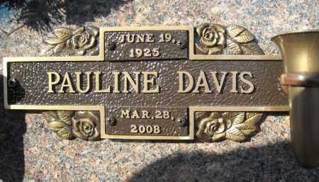 DAVIS, PAULINE - Faulkner County, Arkansas | PAULINE DAVIS - Arkansas Gravestone Photos