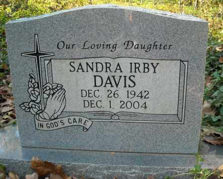 DAVIS, SANDRA - Faulkner County, Arkansas | SANDRA DAVIS - Arkansas Gravestone Photos