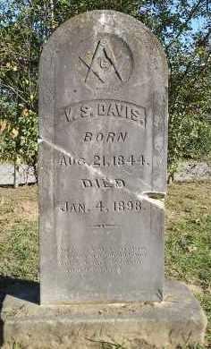 DAVIS, V.S. - Faulkner County, Arkansas | V.S. DAVIS - Arkansas Gravestone Photos