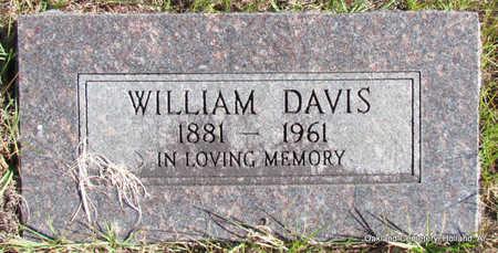 DAVIS, WILLIAM - Faulkner County, Arkansas   WILLIAM DAVIS - Arkansas Gravestone Photos